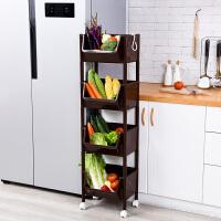 物有物语 蔬菜置物架 厨房用品收纳架落地多层塑料家用果蔬储物架水果收纳筐