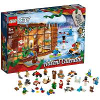 【当当自营】LEGO乐高 城市组系列2019年圣诞倒数日历 60235