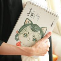 萌猫素描本速写本16K空白纸竖翻涂鸦本 儿童画画本图画绘画本速写 款式*