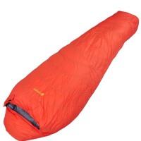 凹凸羽绒睡袋 户外睡袋 野营睡袋 冬季保暖睡袋 白鸭绒旅游用品