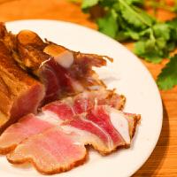 【百色馆】广西百色特产土猪肉农家自制腊肉柴火熏制500g包邮