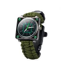 指南针手表多功能求生生存手表户外爬山登山指南针逃生表