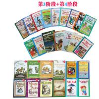 顺丰发货 英文原版绘本 I Can Read 系列 汪培�E推荐第三四阶段34册套装 儿童分级读物 亲子读物 英语阅读提升 图文故事书
