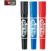 金万年大双头物流专用油性记号笔K-0918箱头笔大头笔油性笔