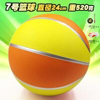 儿童蓝球7号3 5彩色水泥地室内室外训练橡胶软皮小学生幼儿园篮球