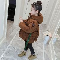 韩版女孩个性棉袄女童洋气夹棉外套儿童洋气冬装