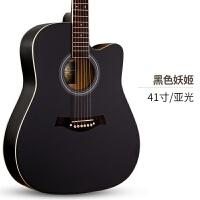 单板41寸云杉民谣初学者木吉他40寸新手入门吉它男女jita琴