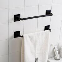 毛巾架置物架挂架单杆抹布免打孔厨房卫生间挂毛巾杆北欧简约创意