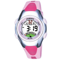 户外运动儿童电子表 女孩 防水夜光儿童手表 女童可爱果冻学生手表