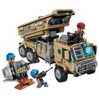 �e木塑料拼�b男童模型�和�玩具�事悍�R男孩拼插����