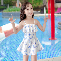 儿童泳衣女童夏连体公主裙学生女孩可爱宝宝中大童温泉泳装