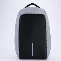 充电防盗背包15寸男女14笔记本电脑双肩包15.6/17寸商务旅行书包SN4830