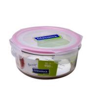 GlassLock/三光云彩 韩国进口钢化玻璃乐扣微波饭盒四面锁扣-保鲜盒/碗RP536 950ml