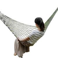 轻型户外吊床 网状野营吊床 单人野外秋千床 便携帐篷伴侣