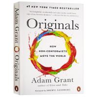 Originals 离经叛道 不按常理出牌的人如何改变世界 英文原版 亚当格兰特 谢丽尔桑德伯格 企鹅经典 经济读物 选
