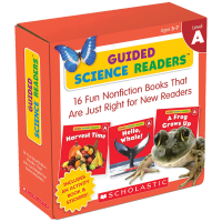 Scholastic 学乐出品 指导性科学读本A级16册套装 Guided Science Readers Level