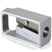 得力文具(deli) 0596 锌合金卷笔刀 削笔器刨笔刀 转笔刀铅笔刀