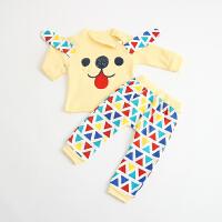 蓓莱乐婴儿童内衣套装棉衣服29宝宝5春衣服01岁3个月新生儿睡衣