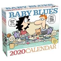 2020日历 漫画 BABY BLUES 2020 DAY-TO-DAY CALENDAR
