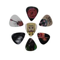 立欧ZIKO民谣吉它拨片不同厚度满足不同技巧吉他指弹拨片7枚装