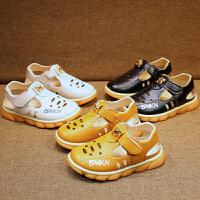 男童凉鞋夏季童鞋儿童软底包头镂空宝宝休闲鞋男童沙滩鞋