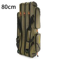 鱼包双肩渔具包防水1.25米三层多功能鱼竿包钓鱼包杆包