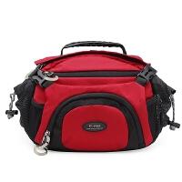 Coress户外腰包便捷相机包单反单肩包佳能腰包摄影包双肩背骑行包