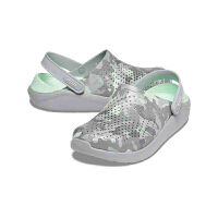 【秒杀价】Crocs卡骆驰女鞋2020春季新款literide迷彩印花休闲洞洞鞋|206491 LiteRide迷彩印