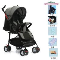 婴儿推车超轻便可坐可躺简易折叠宝宝伞车四轮避震小孩儿童手推车