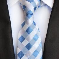 领带 男女士提花几何型领带2020新款韩版时尚男女式职业商务领带