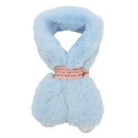 儿童按扣围巾韩版男童女童毛绒套头围脖户外时尚保暖脖套脖围