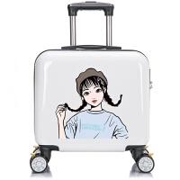 儿童拉杆箱女孩公主可爱旅行箱万向轮16寸卡通宝宝行李箱定制Logo