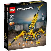 【当当自营】LEGO乐高积木机械组Technic系列42097 10岁+ 精巧型履带起重机