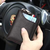 真皮卡包男士简约证件位卡套小巧卡片包多卡位卡夹大容量名片夹女