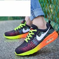 陈冠希同款air max春夏季新款全掌气垫鞋飞线男女跑步情侣运动子