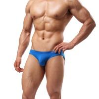 男士情趣内裤冰丝爽滑运动比基尼男士纯色三角内裤内衣