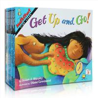 向孩子介绍数学概念的英语启蒙教材Mathstart level 2 套装21本 数学入门启蒙教材书 这是一套从小培养孩子数学素养的、讲授基础的数学知识的绘本读物 孩子的本英文数学启蒙图画书 英文原版书