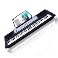 美科MEIKE电子琴61键MK-2067A多功能儿童成人电子琴 初学者入门新手电子琴送话筒/教材