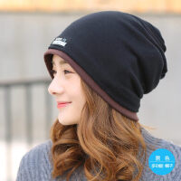 帽子女包头帽韩版潮套头帽堆堆帽休闲百搭头巾帽睡帽月子帽