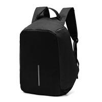 新款休闲双肩包男女运动背包简约学生书包多功能充电旅行包相机包妮