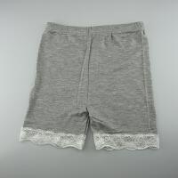 女童安全裤夏蕾丝边儿童打底裤三分薄款短裤