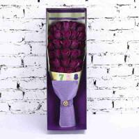 香皂送女友实用花结婚小礼物 圣诞节情人节创意玫瑰花香皂花玫瑰礼盒肥皂花玫瑰