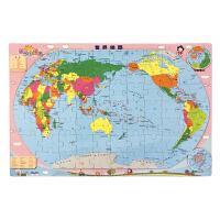 磁乐宝拼图・世界地图