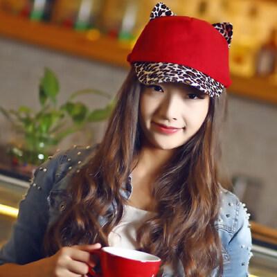 帽子女士平顶帽韩版潮流鸭舌帽休闲帽百搭棒球帽帽子
