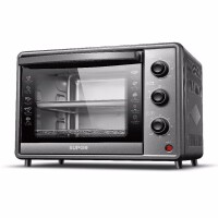 能苏泊尔(SUPOR)K30FK6电烤箱家用烘焙小型多功能全自动蛋糕 大容量热风循环低温发酵蒸烤合一背部热风,童锁功能