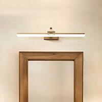 全铜美式镜柜镜前灯卫生间壁灯浴室灯具欧式复古简约化妆灯
