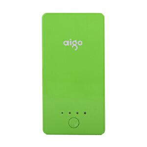 【当当自营】 Aigo爱国者 充电宝A50 5000mAh 移动电源 充电宝 便携充电器 绿色
