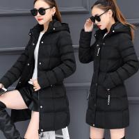 棉衣女中长款韩版2017冬季新款大码冬装加厚羽绒棉袄外套