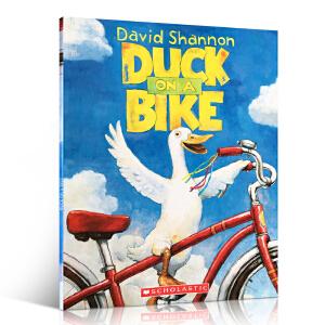 英文原版 鸭子骑车记Duck on a Bike自行车上的鸭子David Shannon 4-8岁幼儿英语启蒙阅读平装绘本