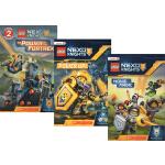 英文原版 Lego Nexo Knights 乐高未来骑士团3册 Scholastic Readers L2 学乐儿童